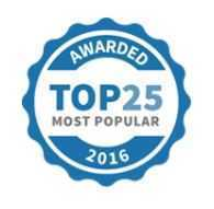 Hipages top 25 badge
