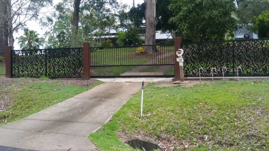 decorative privacy screens leaves and vines design gate fence fencing