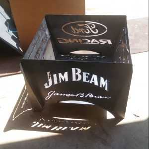 Jim Beam / Ford Racing Flat Pack Fire Pit